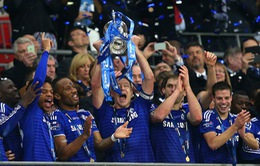 Toàn cảnh chức vô địch League Cup lần thứ 5 của Chelsea qua ảnh