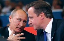 Anh và Nga nhất trí hợp tác chống IS