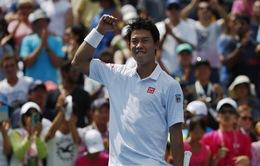 Kei Nishikori tin có thể đánh bại Novak Djokovic một lần nữa