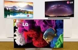 LG ra mắt 7 mẫu TV OLED 4K tại CES 2015