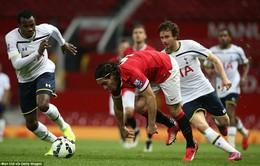 """Bị """"lưu đày"""" xuống tuyển trẻ Man Utd, Falcao tiếp tục thi đấu thất vọng"""