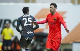 Eibar 0-2 Barcelona: Xây chắc ngôi đầu