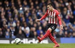 Southampton sút penalty tốt nhất Ngoại hạng Anh