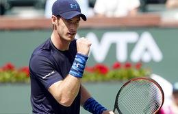 """Indian Wells 2015: Murray vào tứ kết, Kei Nishikori """"ngã ngựa"""""""