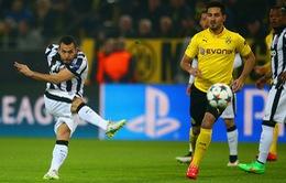 Dortmund 0-3 Juventus: Tevez kéo sập Signal Iduna Park