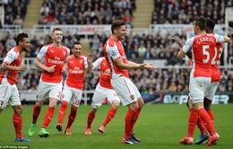 Newcastle 1-2 Arsenal: Pháo thủ nhọc nhằn giành 3 điểm
