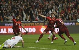 Vòng loại Euro 2016: Cris Ronaldo tịt ngòi, Bồ Đào Nha vẫn chiến thắng