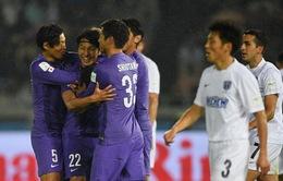Chủ nhà S.Hiroshima thắng trận mở màn FIFA Club World Cup 2015