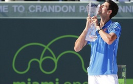Miami Open 2015: Novak Djokovic tỏa sáng lần thứ 5