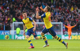 """Burnley 0-1 Arsenal: """"Rambo"""" nổ súng, Arsenal xây chắc ngôi nhì bảng"""