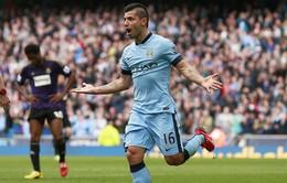 Man City 2-0 West Ham: The Citizens đe dọa hạng 3 của Quỷ đỏ