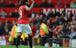 Radamel Falcao chia tay CĐV Man Utd trên Twitter