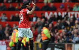 Man Utd chính thức xác nhận Radamel Falcao rời Old Trafford