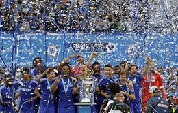 Chelsea dạt dào cảm xúc trong ngày nâng cúp Premier League