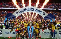 Hủy diệt Aston Villa, Arsenal lập kỷ lục số lần vô địchFA Cup