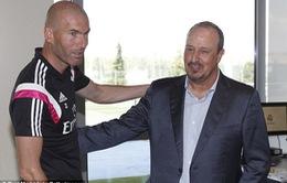 Zidane tự nhận chưa đủ trình ngồi vào 'ghế nóng' tại Real Madrid