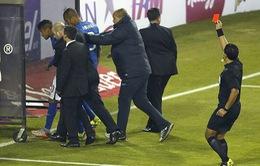 Dính án phạt siêu nặng, Neymar cay đắng chia tay Copa America 2015