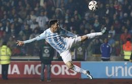 """Copa America 2015: Khi """"siêu nhân"""" Messi đóng """"kép phụ"""""""
