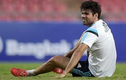 Diego Costa dính chấn thương lạ, HLV Mourinho cũng không biết tại sao