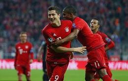 Bayern Munich 5-0 Dinamo Zagreb: Thắng dễ đoạt ngôi đầu