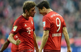 Lewandowski tiếp tục nhả đạn, Bayern Munich đè bẹp Dortmund 5-1