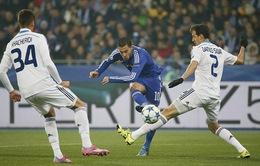 """D.Kiev 0-0 Chelsea: Xà ngang, cột dọc """"cuỗm"""" 3 điểm khỏi tay Mourinho"""