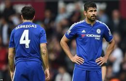 Matic nhận thẻ đỏ, Chelsea thua đau trước West Ham