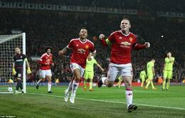 Rooney ghi bàn quý hơn vàng, Man Utd chiếm ngôi đầu bảng B