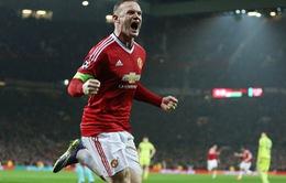 Rooney ăn mừng điên cuồng sau khi giải cơn khát bàn thắng