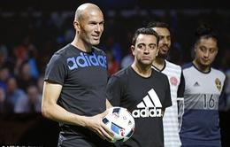 Zidane, Xavi giới thiệu trái bóng chính thức của Euro 2016