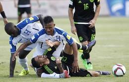 Tuyển thủ Honduras gãy đôi chân đối diện nguy cơ phải giải nghệ