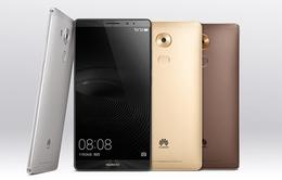 Huawei Mate 8 ra mắt với màn hình 6 inch, RAM 3GB