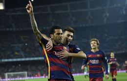 Vắng M-S-N, Barcelona vẫn dễ dàng thắng với tỷ số bằng 1 set tennis