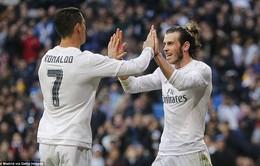 Tam tấu B-B-C cùng nhau ghi 9 bàn, Real Madrid thắng giòn giã 10-2