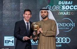 Nhận giải Cầu thủ xuất sắc nhất thế giới, Messi gọi năm 2015 là phi thường