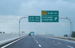 Cao tốc mới giúp đi từ Hà Nội - Hải Phòng chỉ còn 1.5 giờ