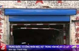 Trung Quốc: Sập hầm mỏ, 13 công nhân mắc kẹt, 2 người tử vong