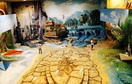 Cận cảnh bảo tàng tranh 3D đầu tiên tại TP.HCM