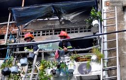 TP.HCM: Cháy nhà 2 tầng, người dân hốt hoảng tháo chạy