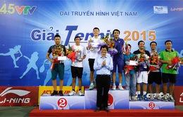 Giải Tennis VTV 2015 thành công tốt đẹp