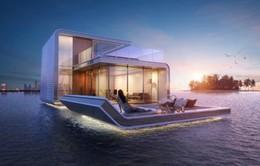 Mát mẻ với biệt thự nổi giữa biển tại Dubai