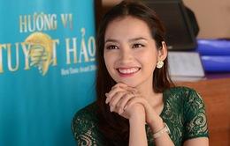 """Hoa hậu Thời trang Trúc Diễm lần đầu ngồi """"ghế nóng"""" cuộc thi ẩm thực"""