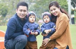 Ngày Tết, MC Hoàng Linh tận dụng từng giây phút cho gia đình