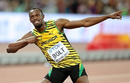 """""""Tia chớp"""" Usain Bolt vô địch thế giới nội dung 100m"""