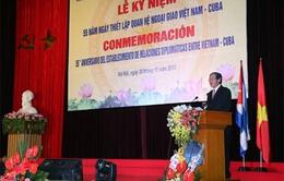 55 năm thiết lập quan hệ ngoại giao Việt Nam - Cuba