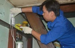 500 hộ nghèo được sữa chữa, lắp điện miễn phí đón Tết