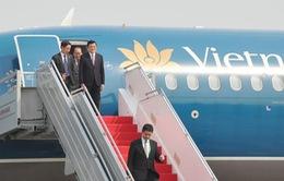 Chủ tịch nước đến Jakarta tham dự Hội nghị Cấp cao Á - Phi