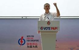 Tổng tuyển cử tại Singapore: Cạnh tranh song không bất ngờ?