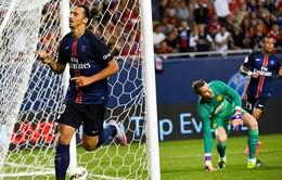 """ICC 2015: Man Utd """"vỡ mộng"""" trước PSG"""
