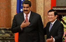 Tổng thống Venezuela thăm chính thức Việt Nam